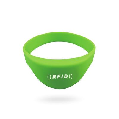 Custom NFC Ntag213 Rfid Silicone Tag Bracelet