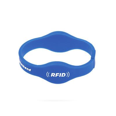Custom Printed Silicone FM11RF08 Nfc Rfid Wristbands