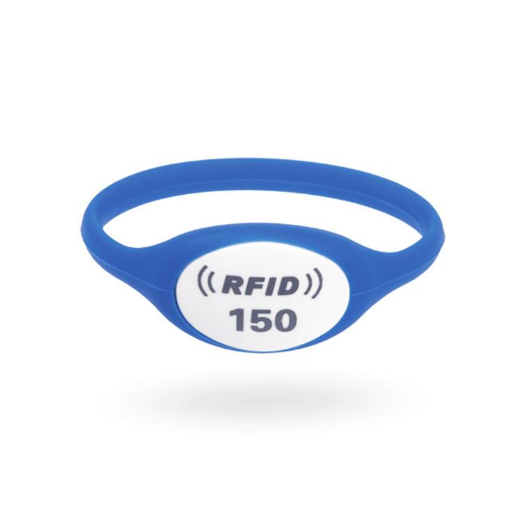 Custom Ntag213 Rfid Silicone Wristband Bracelet For Ticket Fitness Center