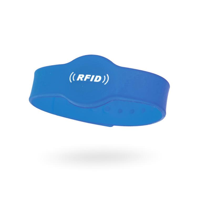 Wholesale Proximity 125kHz Tk4100 ID Rfid Silicone Wristband