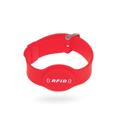 Custom Logo Printing Classic S50 RFID Silicone Wristband for Event Management