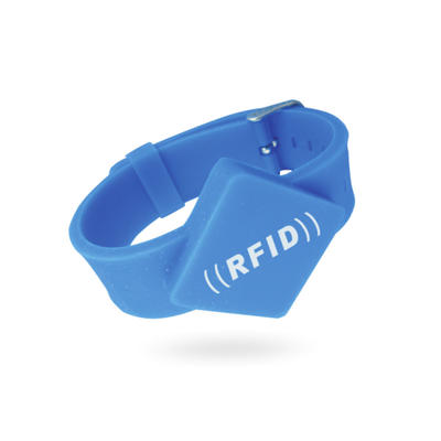 Silicone 125kHz Em4305 Smart RFID Wristband Bracelets For Swimming Pool