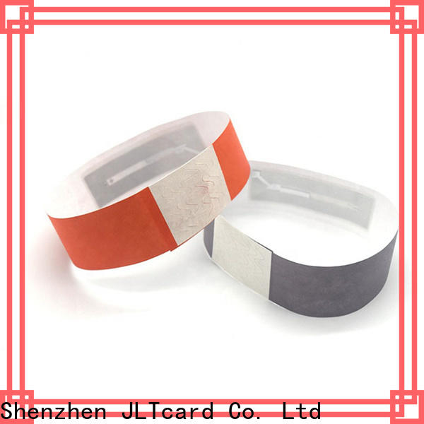 JLTcard intelligent rfid disposable wristband wholesale for events