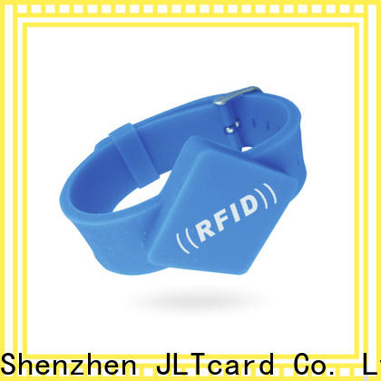 JLTcard rfid silicone wristband wholesale for hospitals