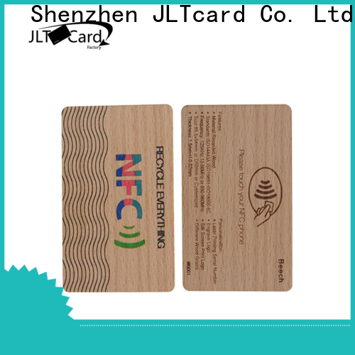 JLTcard OEM ODM wood card wholesale for contactless payments