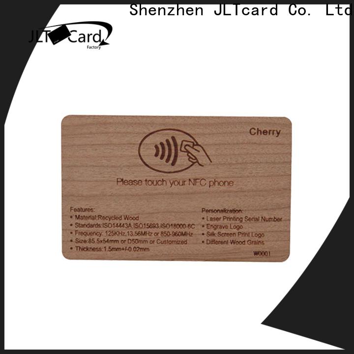 custom wood card trader for ticketing