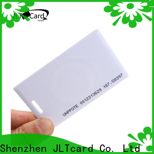 JLTcard hot sale clamshell card wholesale for seal