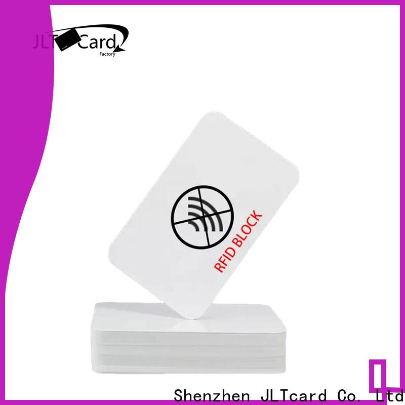 JLTcard best rfid blocking card wholesale for importer