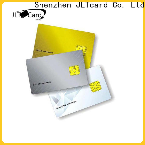 JLTcard stable supply contact smart card manufacturer for medical