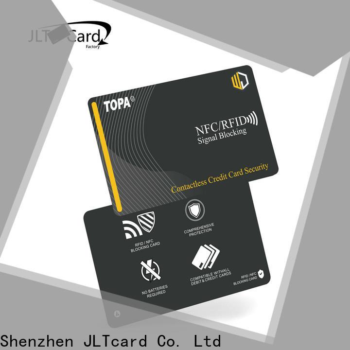 JLTcard blank pvc card wholesale for identification