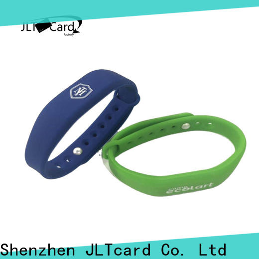 JLTcard custom rfid silicone wristband from China for hospitals