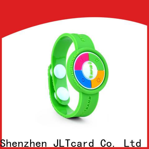 JLTcard rfid pvc wristband one-stop services for healthcare