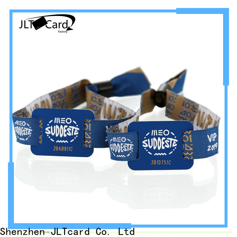 reliable rfid fabric wristband wholesale for importer