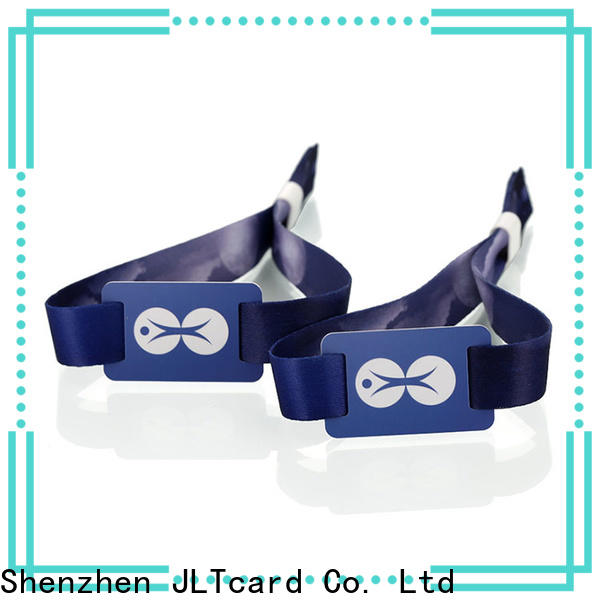 JLTcard unrivaled rfid wristband factory for hospitals