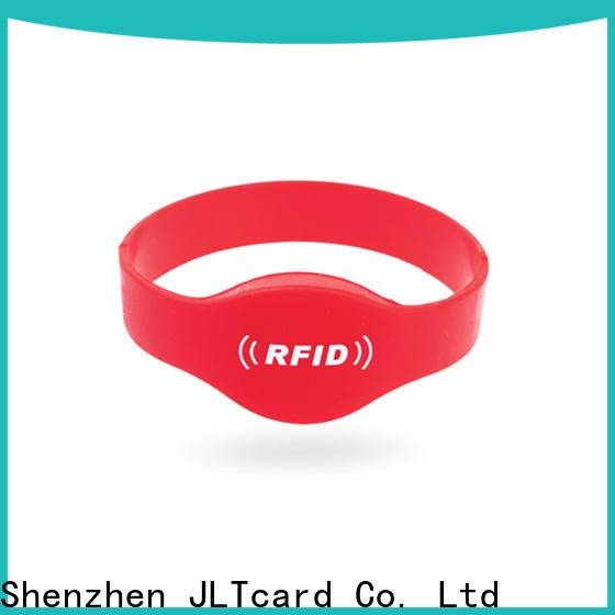 hot sale rfid silicone wristband factory for events