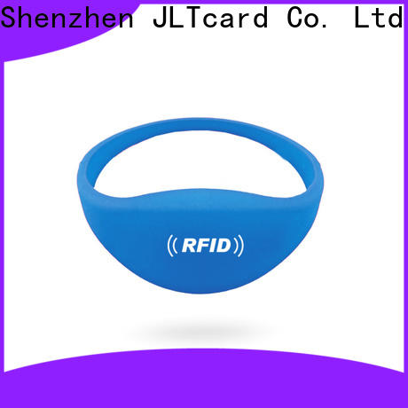 JLTcard rfid silicone wristband manufacturer for hospitals