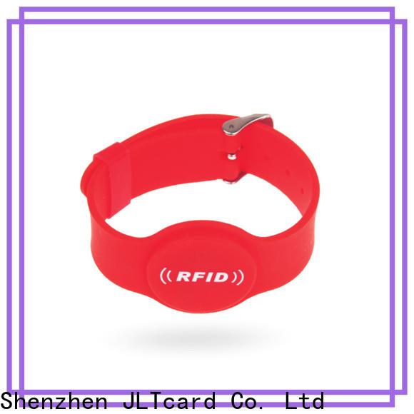 JLTcard custom silicone bracelets trader for events