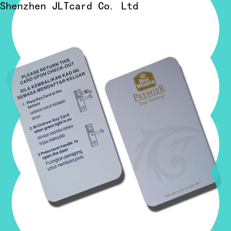 standard blank pvc card supplier for public transit