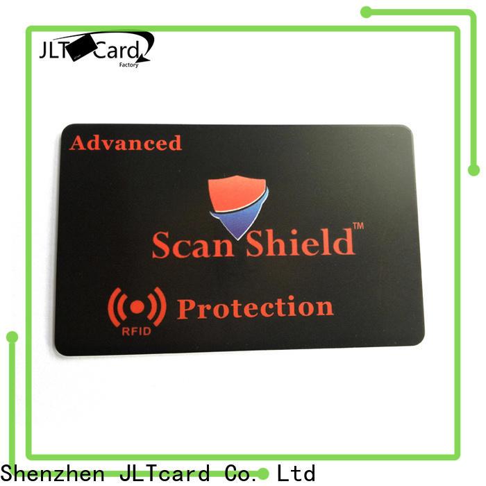 JLTcard OEM ODM best rfid blocking card one-stop solutions for importer