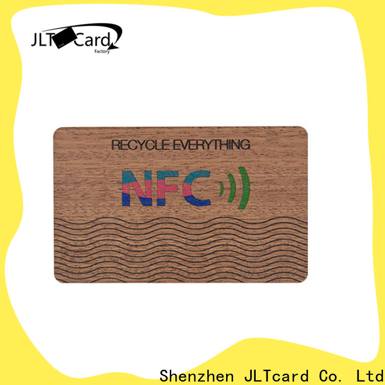 OEM ODM wood business cards supplier for access control