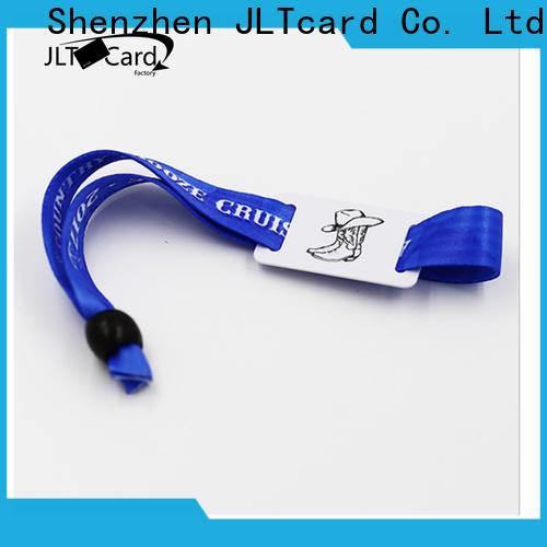 JLTcard rfid fabric wristband trader for overseas market
