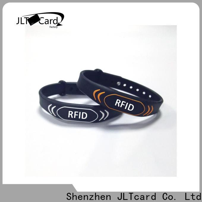 JLTcard hot sale custom silicone bracelets factory for hospitals