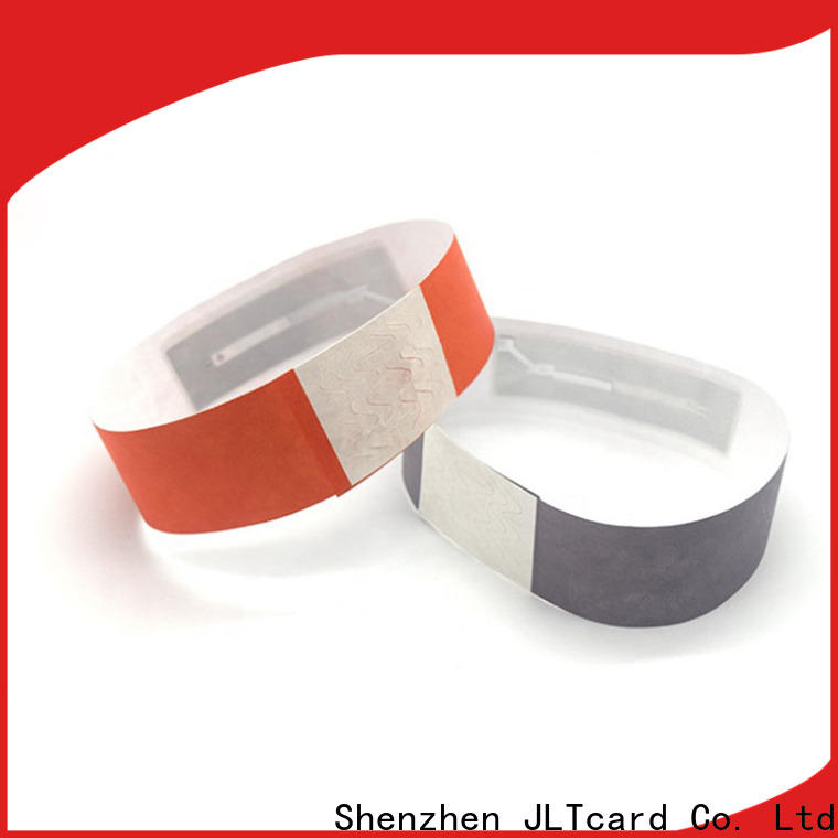 JLTcard rfid disposable wristband wholesale for events