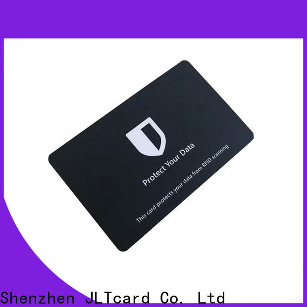 JLTcard custom rfid blocking card one-stop solutions for importer