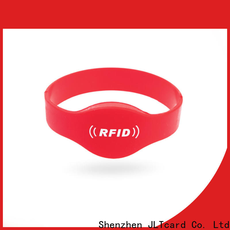 JLTcard perfect custom silicone bracelets brand for events