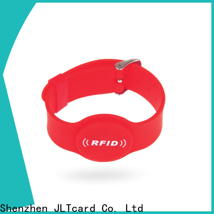 custom rfid silicone wristband manufacturer for hospitals