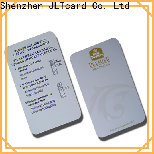 JLTcard secure contactless credit card brand for authentication