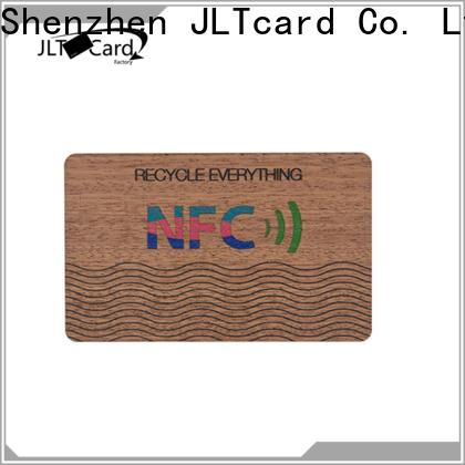 JLTcard wood card manufacturer for access control