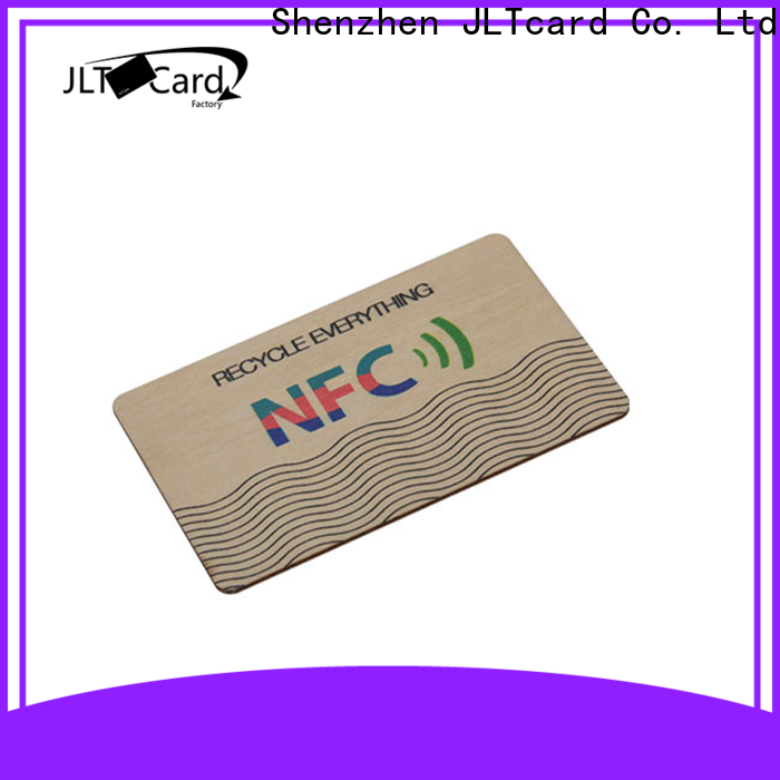 JLTcard wood business cards supplier for access control