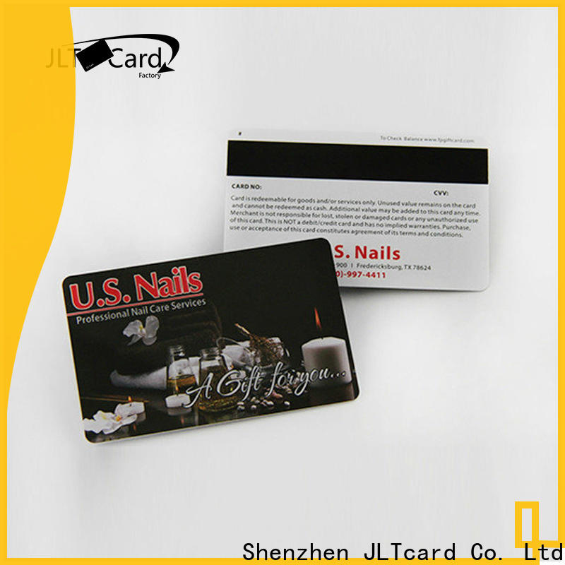 JLTcard magnetic strip card brand for access control