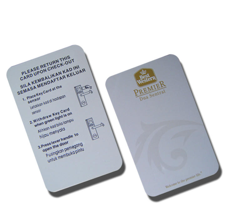 Contactless Smart Rfid Mifare Plus EV1 2K Card