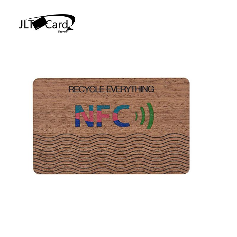 Mifare Desfire EV1 4k  Sapele Wooden Card OEM ODM