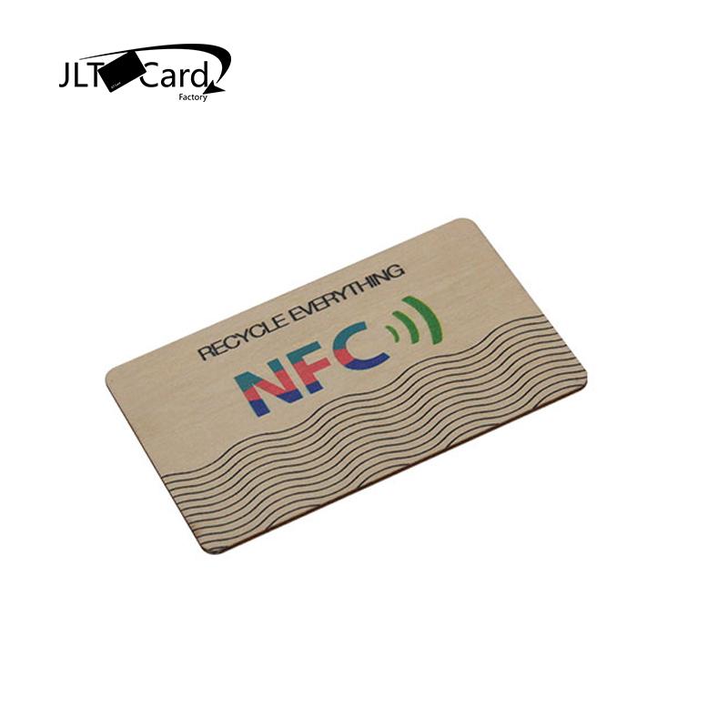 125KHZ Proximity Engraved  Birch Wooden Card