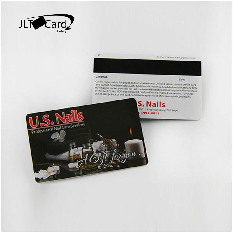 Hotel magnetic key card cr80 cards with hico mag stripe