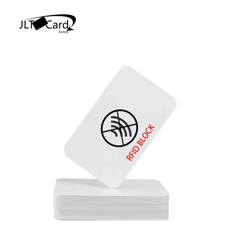 E-Shield Technology RFID Block Custom Printed RFID Blocking Card With Chip Module