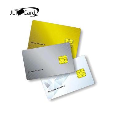 Custom printed CR80 Atmel AT24C01  /  AT24C02 /  AT24C04 /  AT24C16 / AT24C64  Contact card