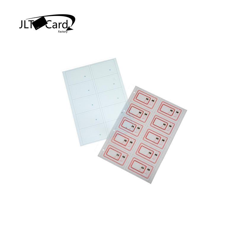RFID inlay/prelam sheet