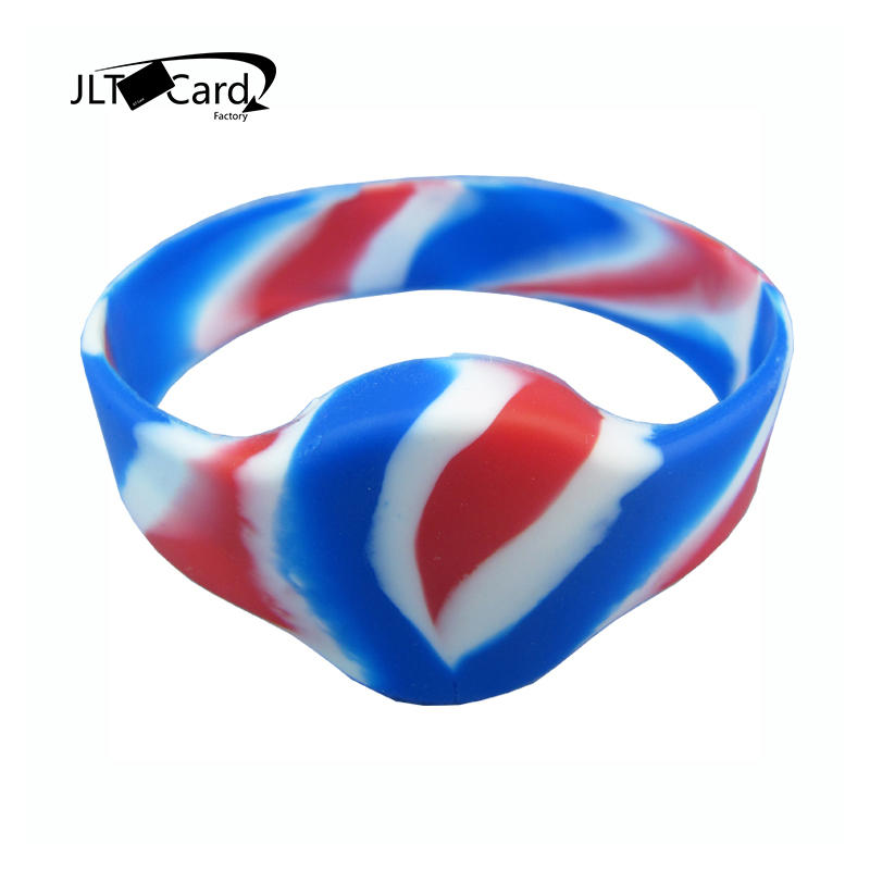 Factory Wholesale Eco Friendly Soft Silicone NFC Bracelet Durable Children Tracking Rfid Wristband With Cheap Price