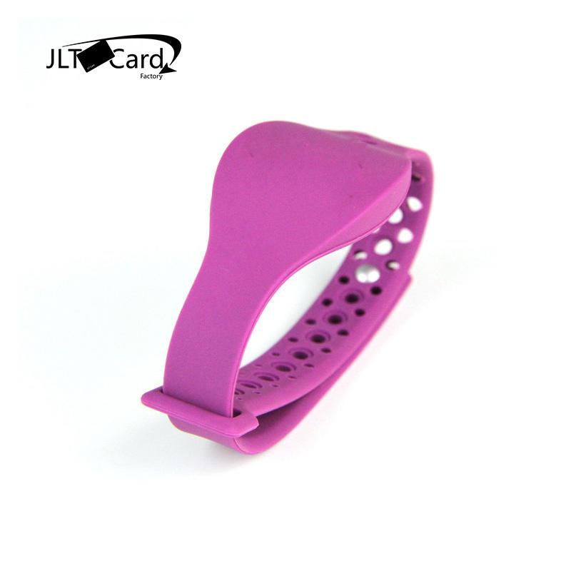 RFID TK4100 RFID silicone wrist bands custom gym bracelets
