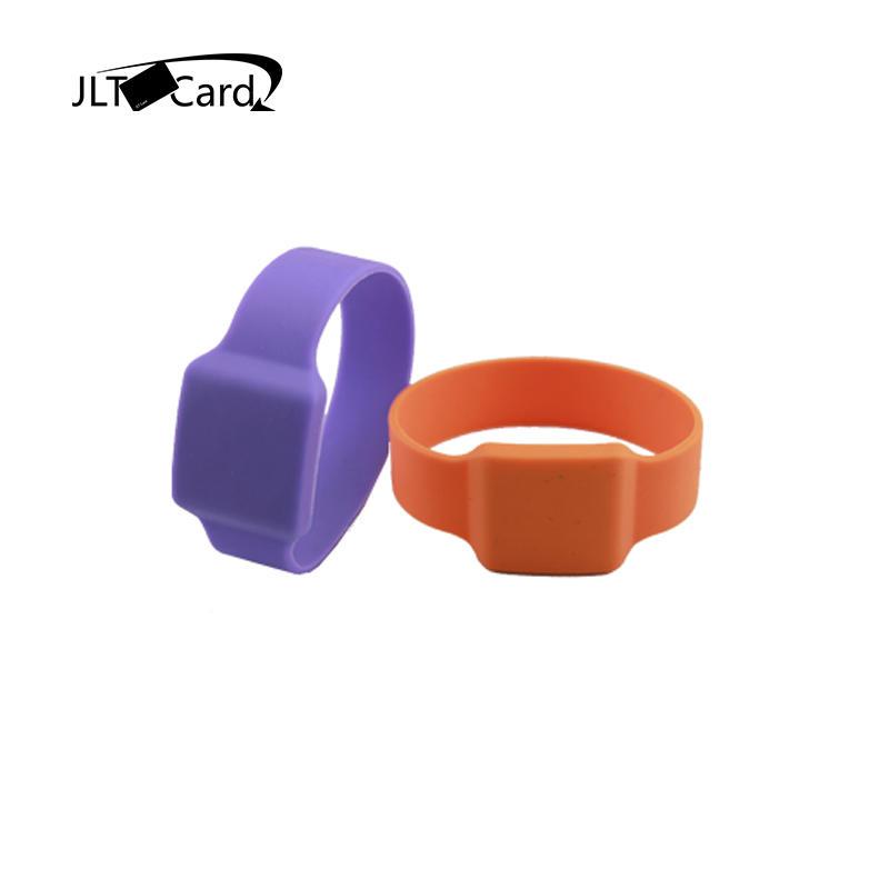 Cheap Price Open Lock 13.56mhz Silicone Rfid Wristband