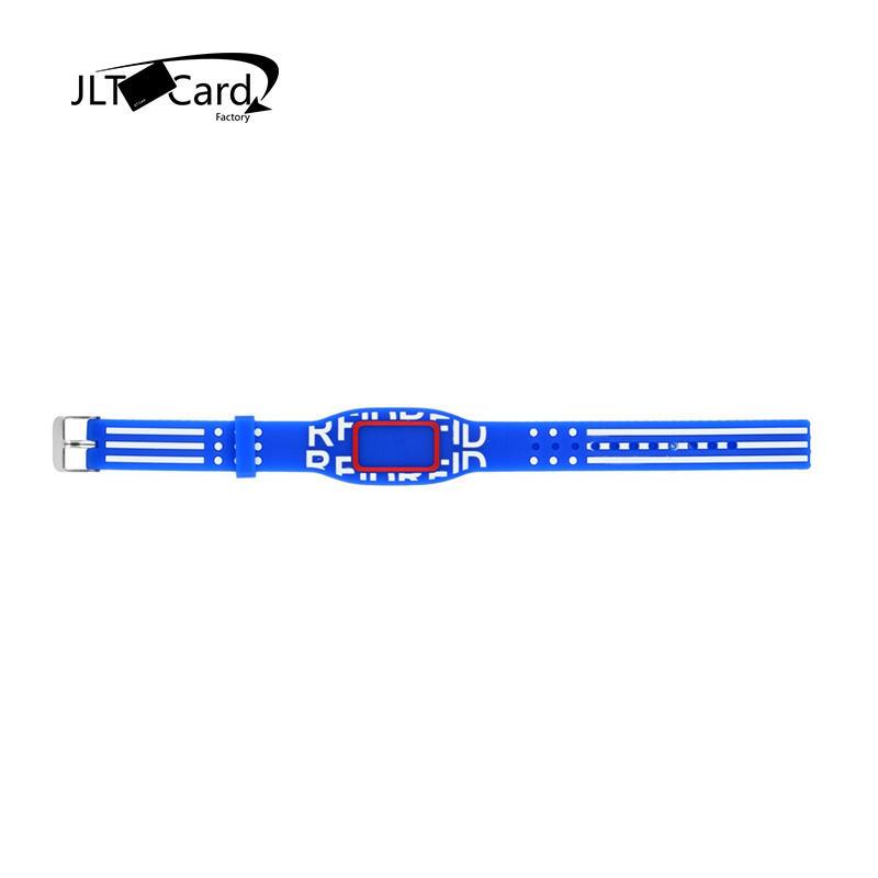 Long Range UHF Alien H3/HF Adjustable RFID Bracelet NFC Silicone Wristband