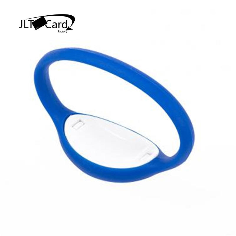 Custom UHF/HF/LF Fitness Reuseing Comfortable 13.56mhz rfid silicone wristband For Concert Events Access Control