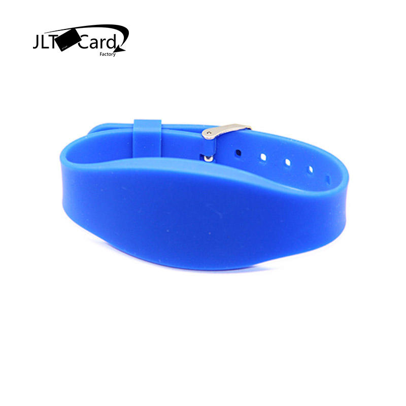 Wrist bands 13.56mhz RFID proximity silicone rubber smart watch wristband