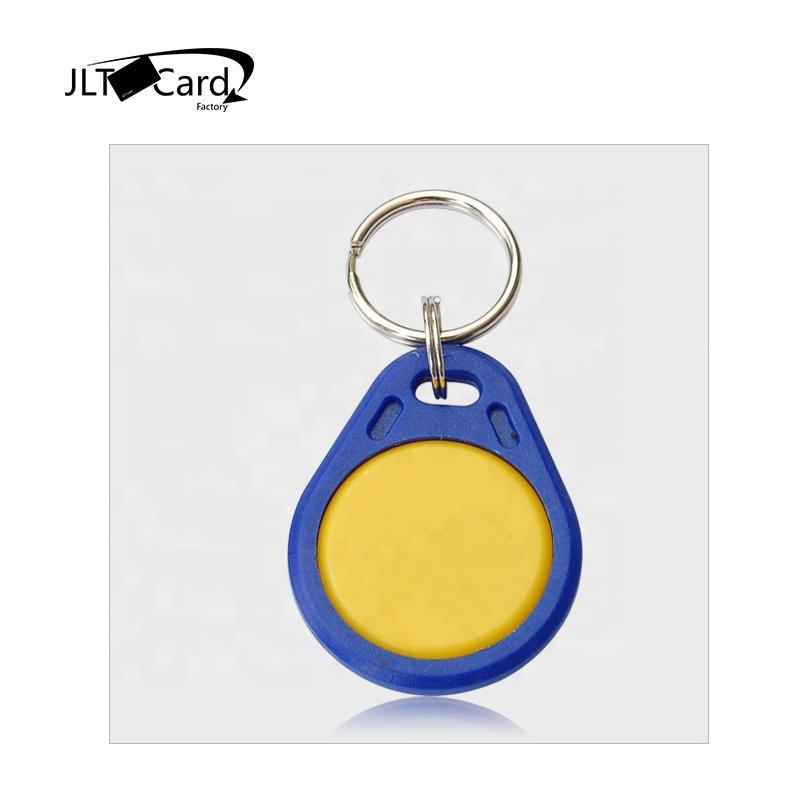 Hotel room key card/13.56mhz contactless nfc keychain /ABS 125khz access control rfid keyfob