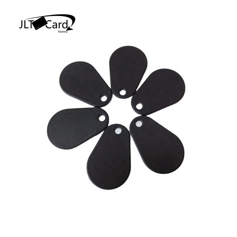 China Manufacturer 13.56MHz Mifare Classic 1k UID Printing Pear Shaped RFID KeyFob  /  JLTcard