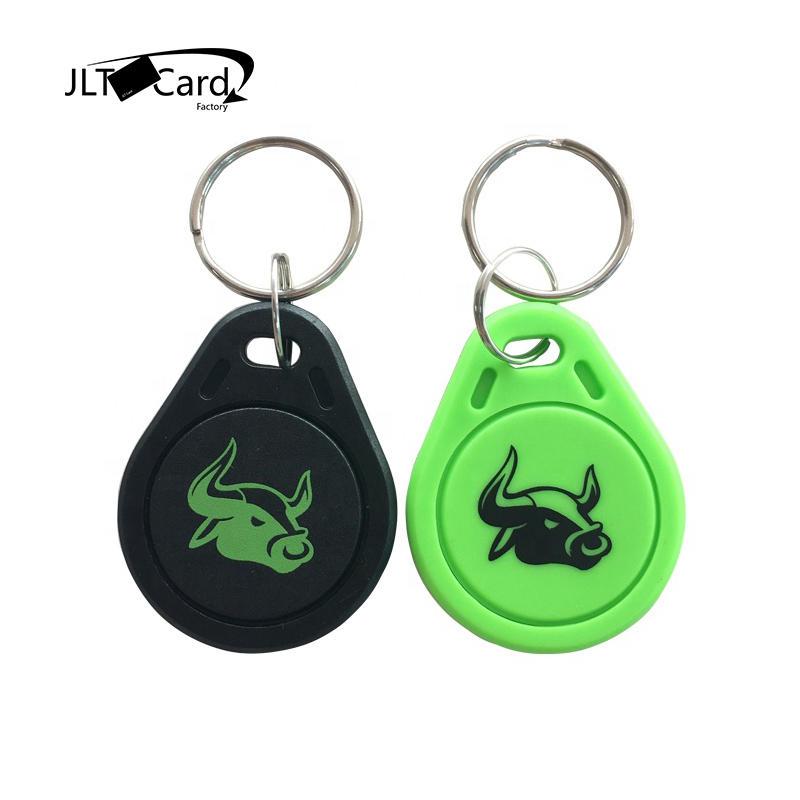 MIFARE CLASSIC 1K door lock access control fobs mini custom rfid keychain